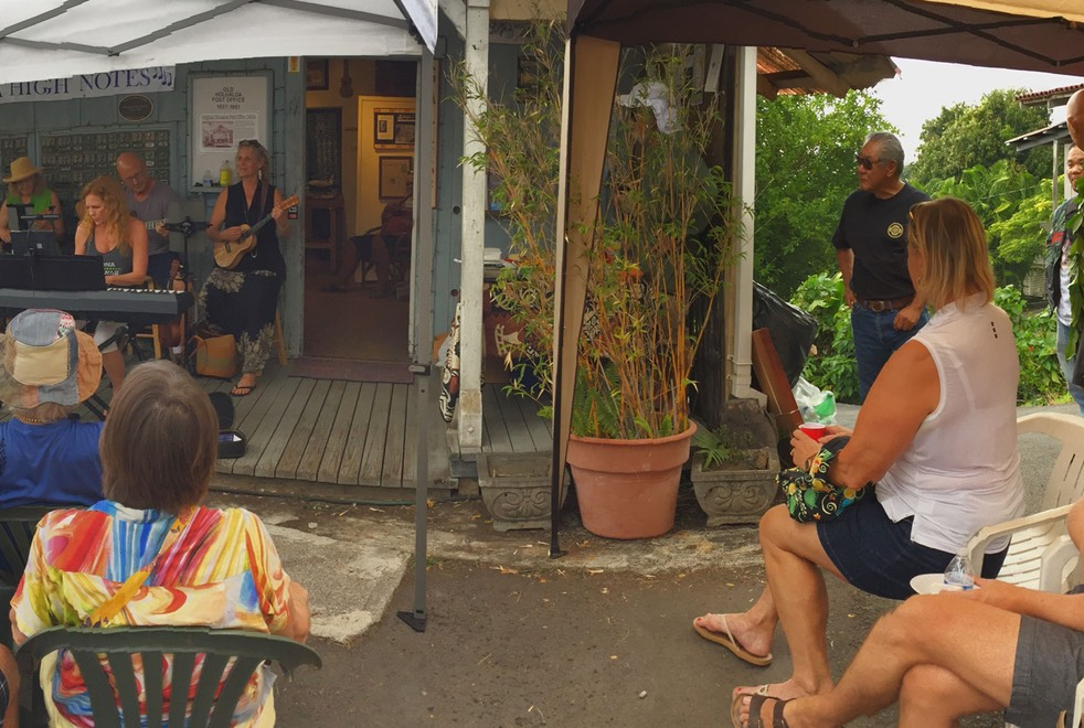 Guests enjoy Mauka High Notes